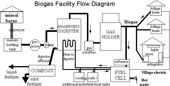 diagram of a hydrogen fuel cell